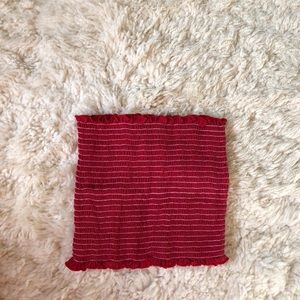 Brandy Red Cleo Tube top